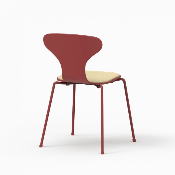 HI chair - Brick - Coda2 116 rear