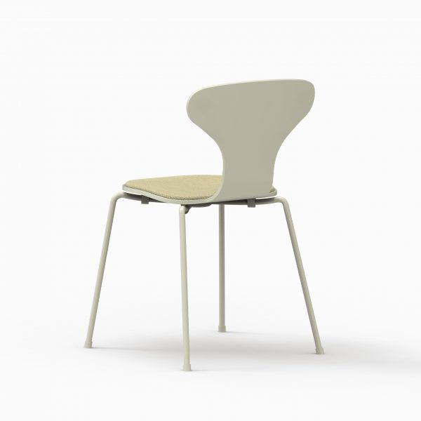 HI chair - Green Pasty - Coda2 232 rear