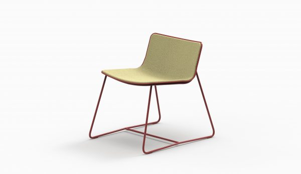 MINA Lounge chair - Brick - Coda2 116