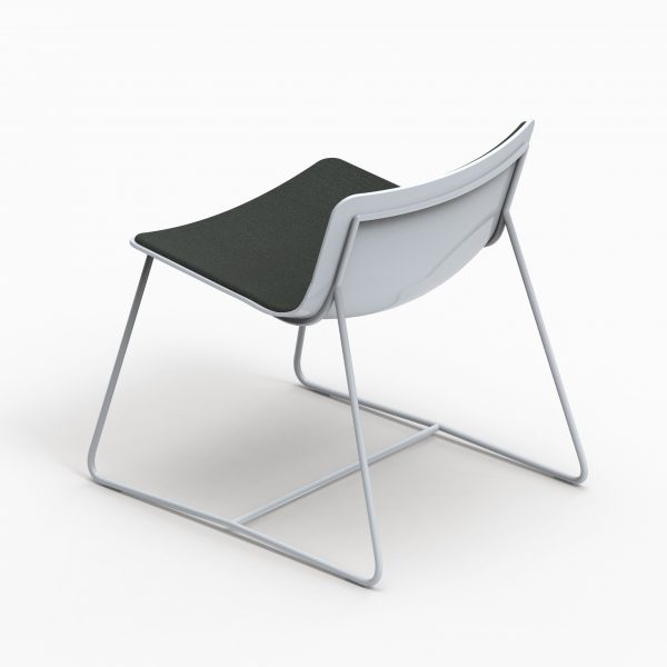 MINA Lounge chair - Real Grey - Coda2 762 axo up