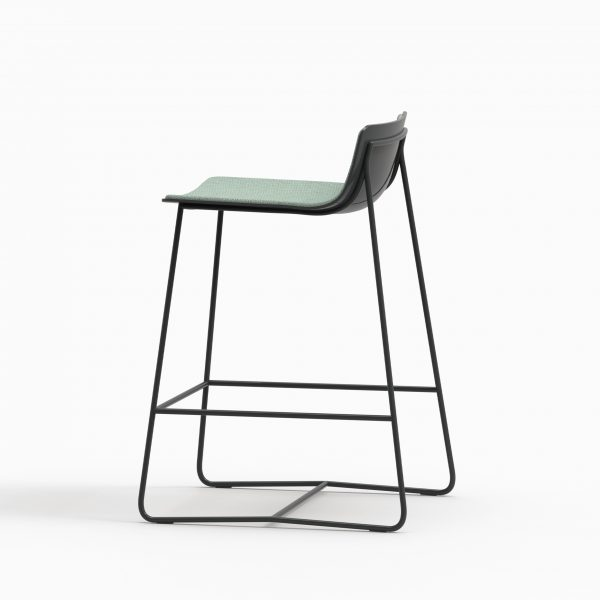 MINA Counter stool - Black Soft - Coda2 722