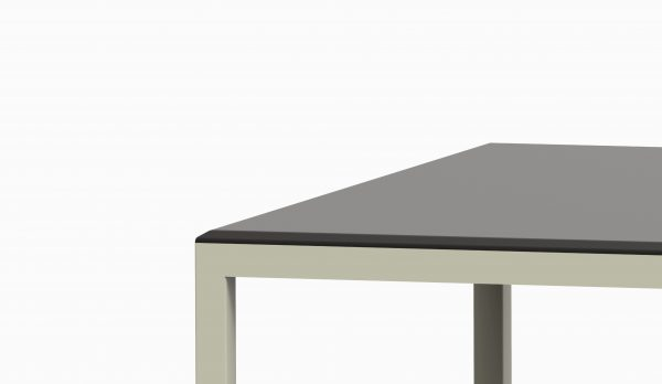 TAU table 2800x90 (Black top - Green Pasty structure) zoom3