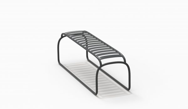 TURTLE bench - Black Soft - Catalogue FARELL 2018