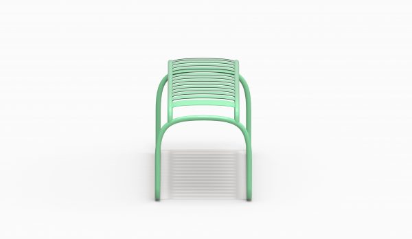 TURTLE bench - Electric Green - Catalogue FARELL 2018