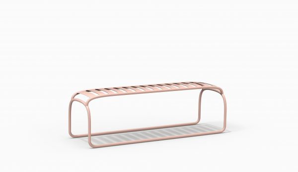 TURTLE bench - Pink - Catalogue FARELL 2018