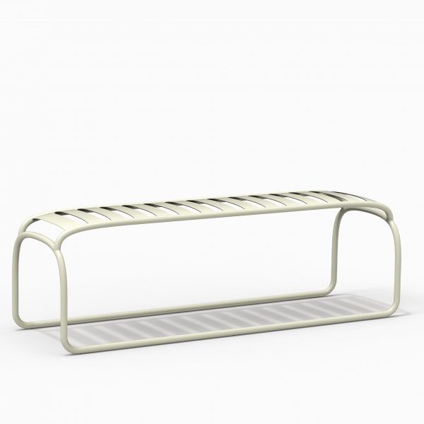 TURTLE bench - Green Pasty - Catalogue FARELL 2018