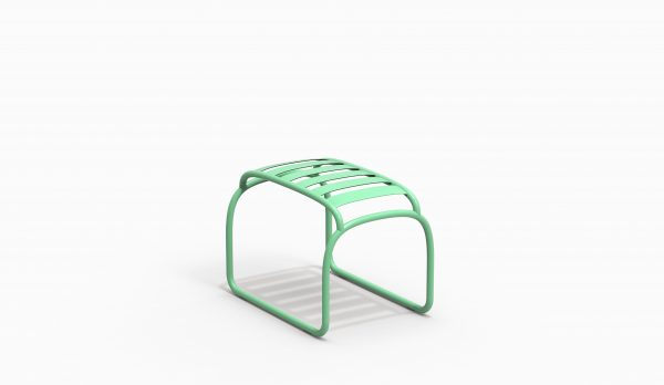 TURTLE stool - Electric Green - Catalogue FARELL 2018