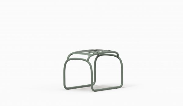 TURTLE stool - Green Grey - Catalogue FARELL 2018