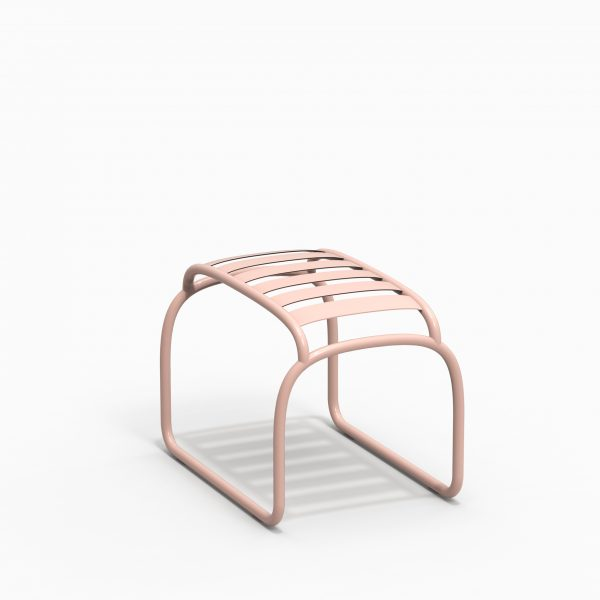 TURTLE stool - Pink - Catalogue FARELL 2018