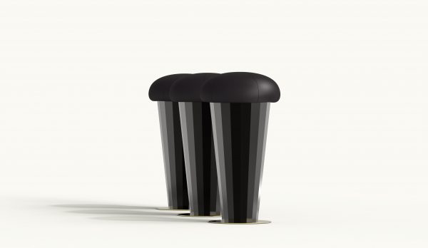 STROBY counter stool - Black Version
