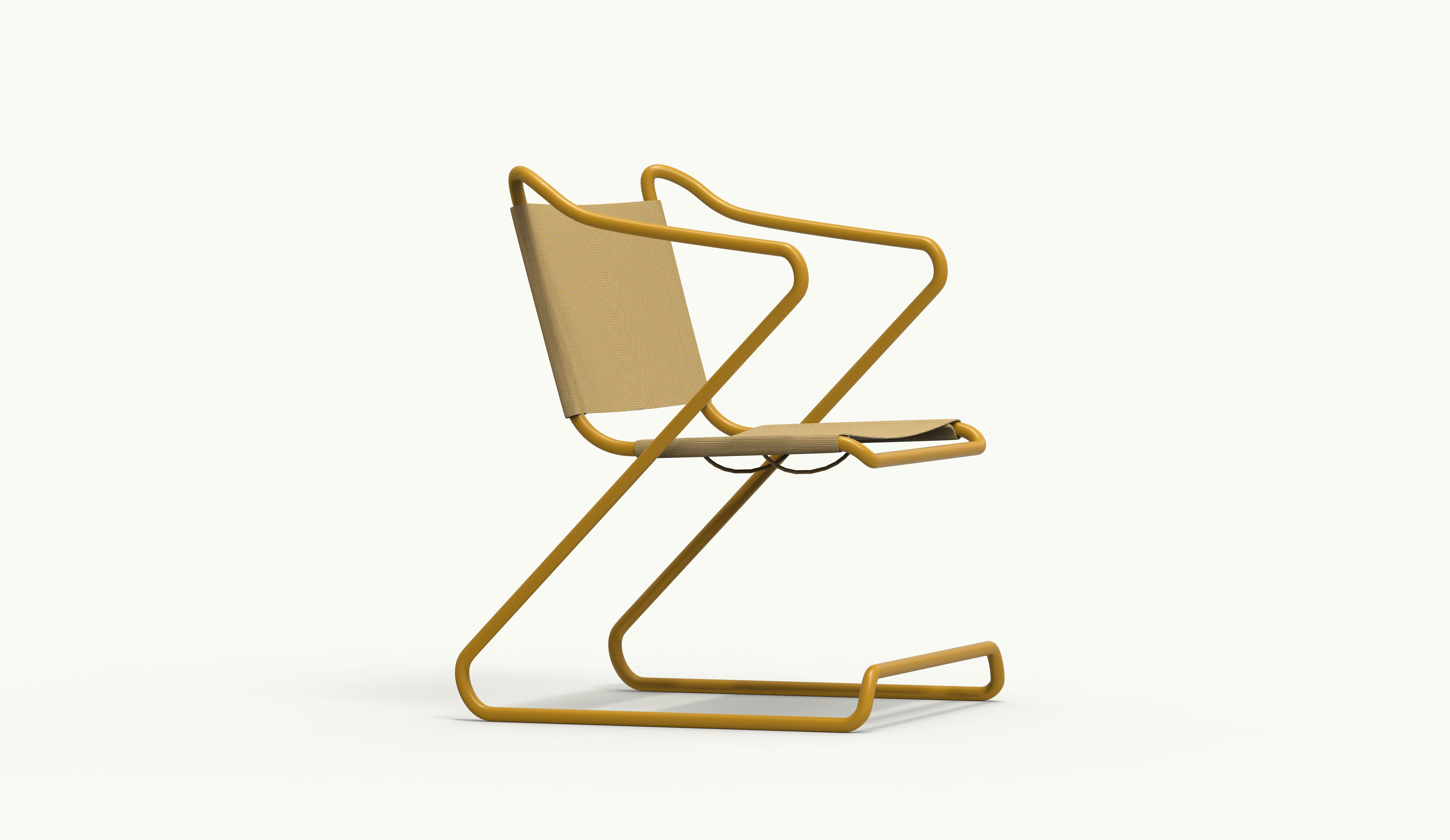 ALU chair - Ginger Yellow