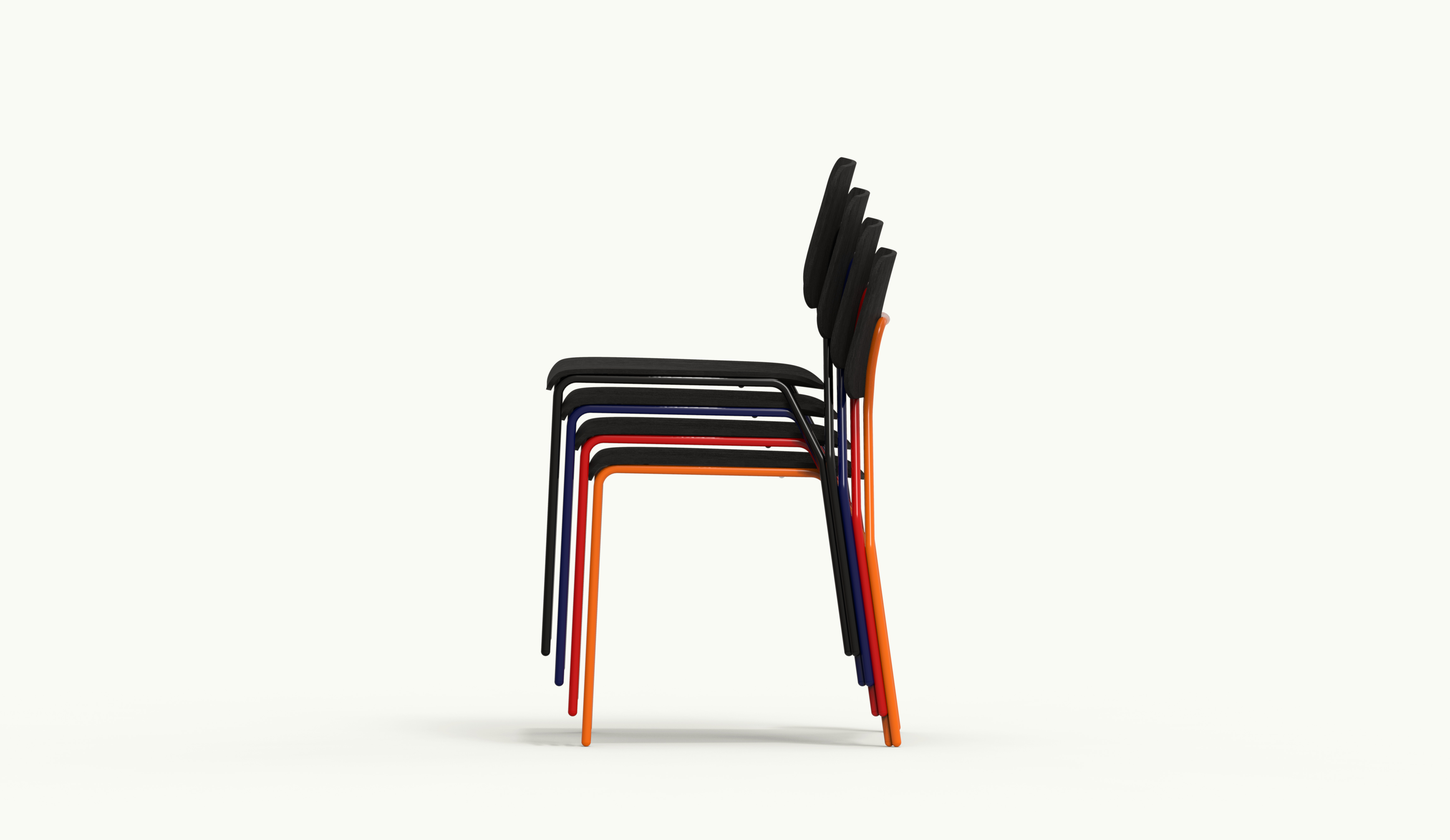ALU chair - Stacked colors